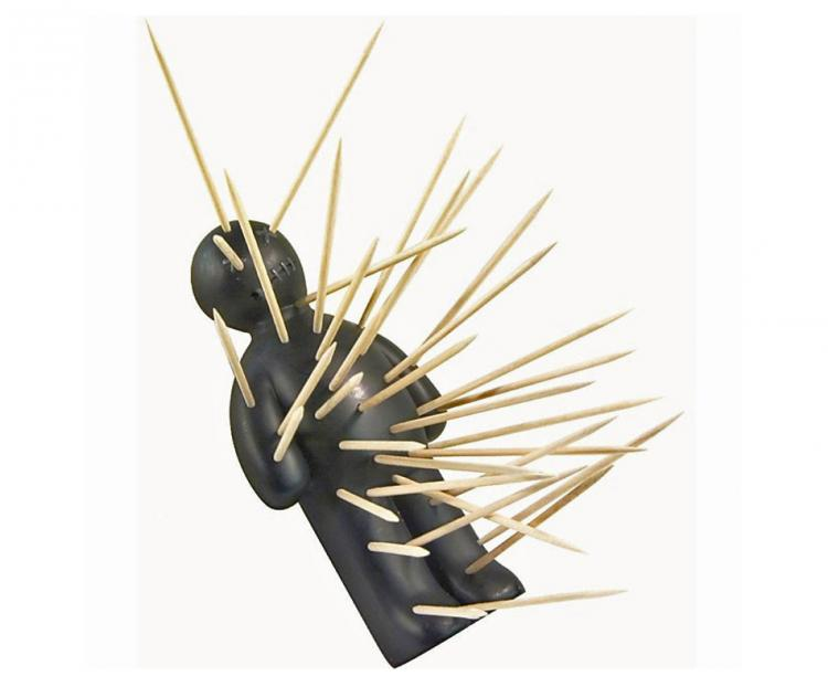 Voodoo doll toothpick holder - Voodoo toothpick holder ...