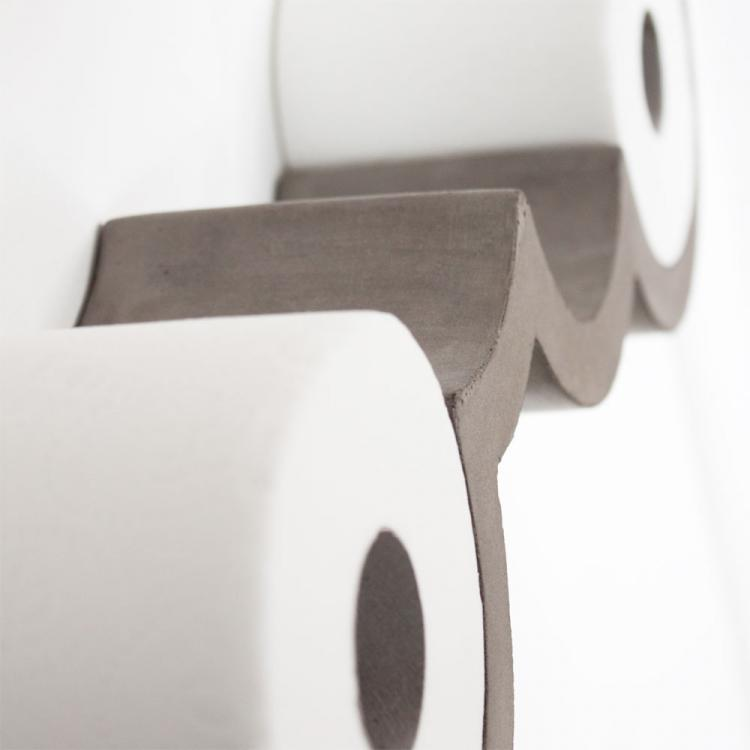 Wall Mounted Cloud Shaped Toilet Paper Holder