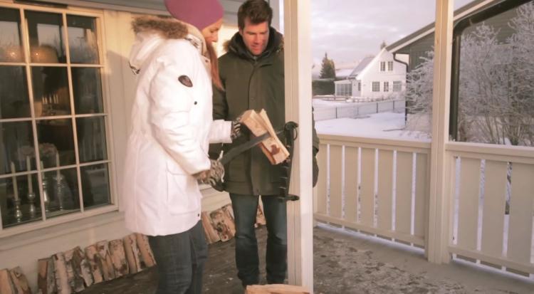 Stikkan A Wall Mounted Log Splitter For Cutting Up Kindling