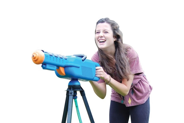 Water Cannon - Giant Squirt Gun on a Tripod