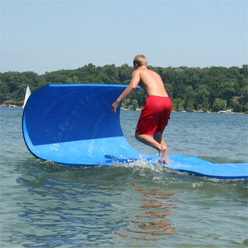 Water Mat Lets You Walk On Water