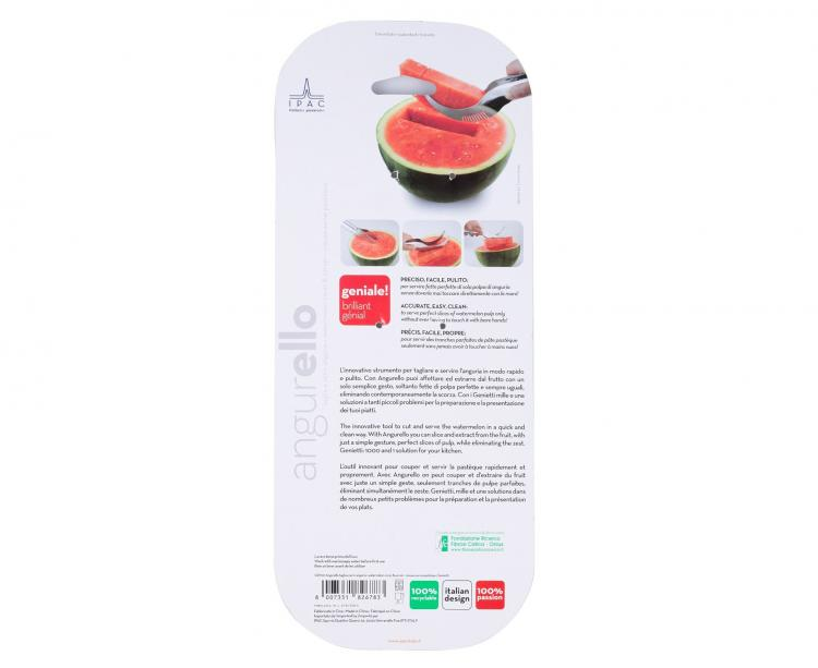 Watermelon Corer And Server - iGenietti Watermelon Slicer/server