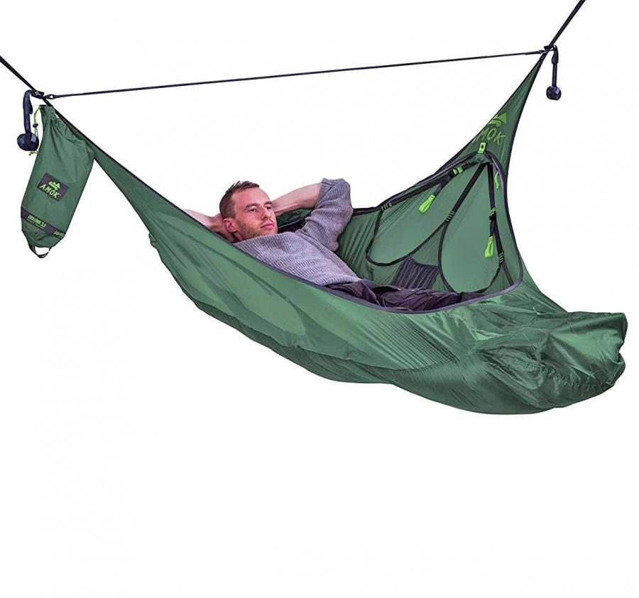 Amok Hammock Tent Lets You Actually Lay Flat