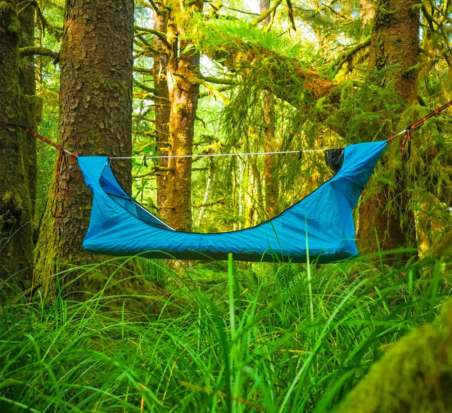 Haven Tent Is Hammock Tent That Lets You Lay Completely Flat