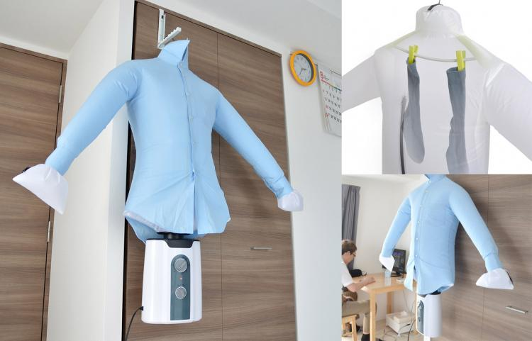 Coolest Japanese Gadgets - Wrinkle Removing Travel Dryer - Dries Shirts and Socks Extremely Quickly