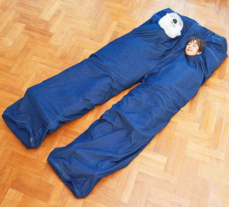 Coolest Japanese Gadgets - Giant Pair Of Paints Two-person Sleeping Bag