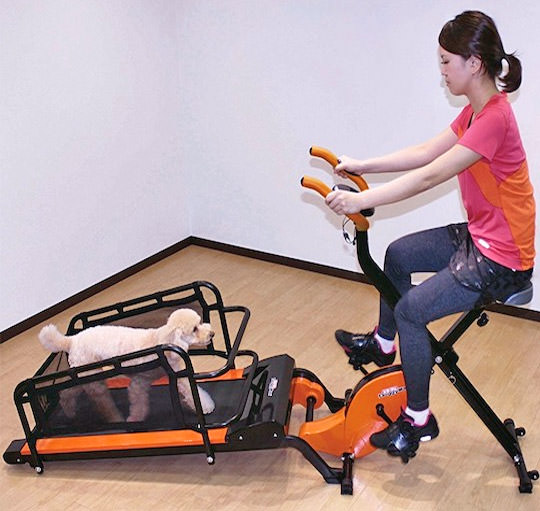 Coolest Japanese Gadgets - Dual Dog Exercise Treadmill Lets You Exercise With Your Pooch