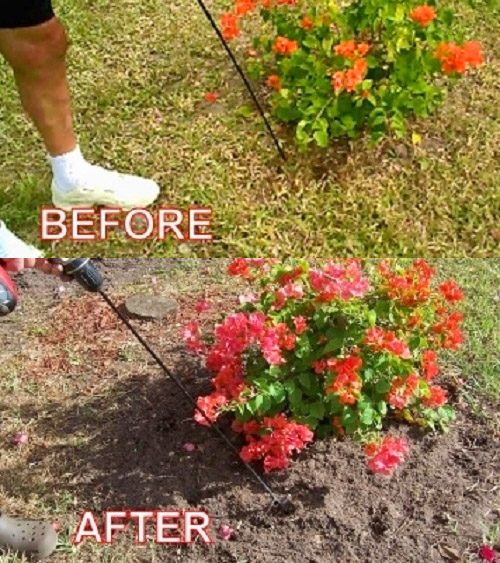 WeedNtill: Weeding and Tilling Tool, Connects To Your Cordless Drill