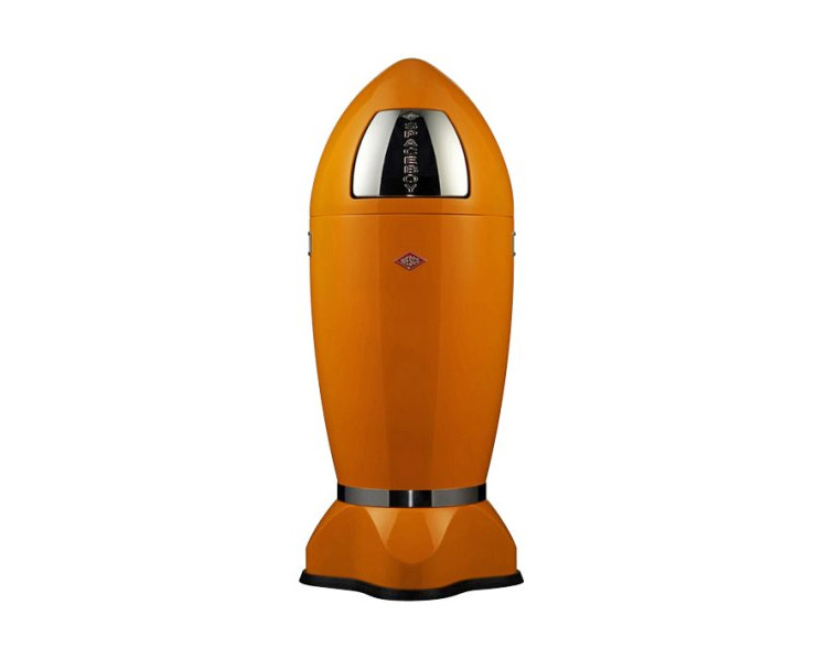 Wesco Spaceboy - Spaceship Garbage Can - Orange