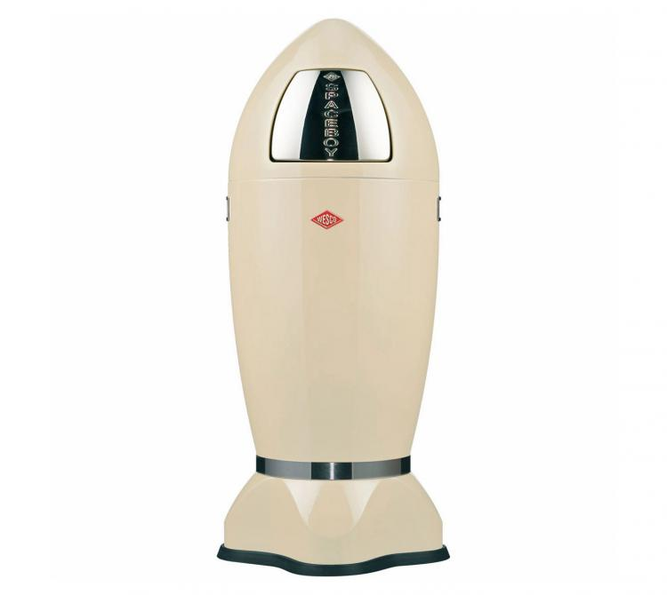 Wesco Spaceboy - Spaceship Garbage Can - Cream