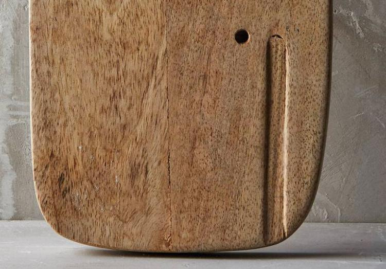 Vintage Wooden Whale Shaped Cutting Board - Wooden Whale Serving Board