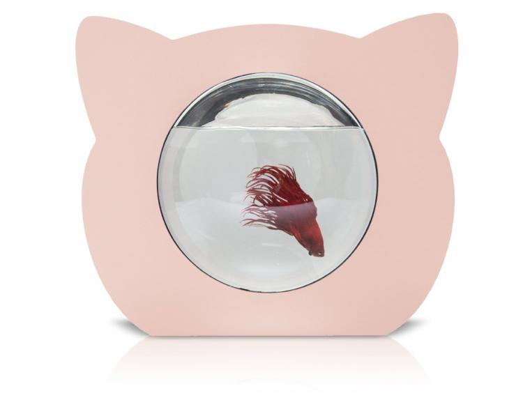 Cat Shaped Fish Tank