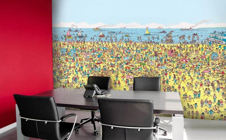 Where S Waldo Wall Mural