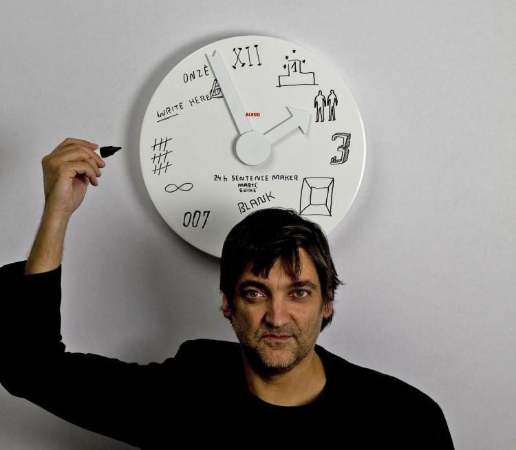 Whiteboard Wall Clock