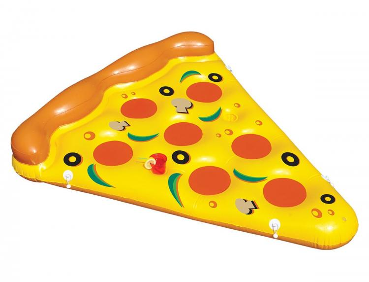 Whole Pizza Pool Float System - Connect 8 Slices Of Pizza Pool Floats Together