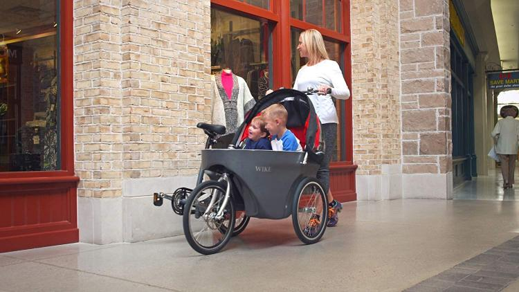 Wicycle Salamander Bicycle Converts Into a Stroller - Wike stroller bike