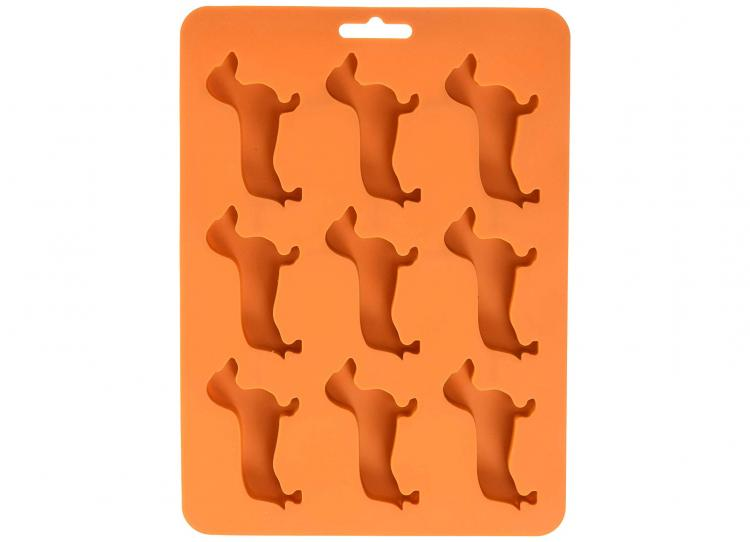 Wiener Dog Ice Cube Mold - Dachshund Dog Ice Tray Mold