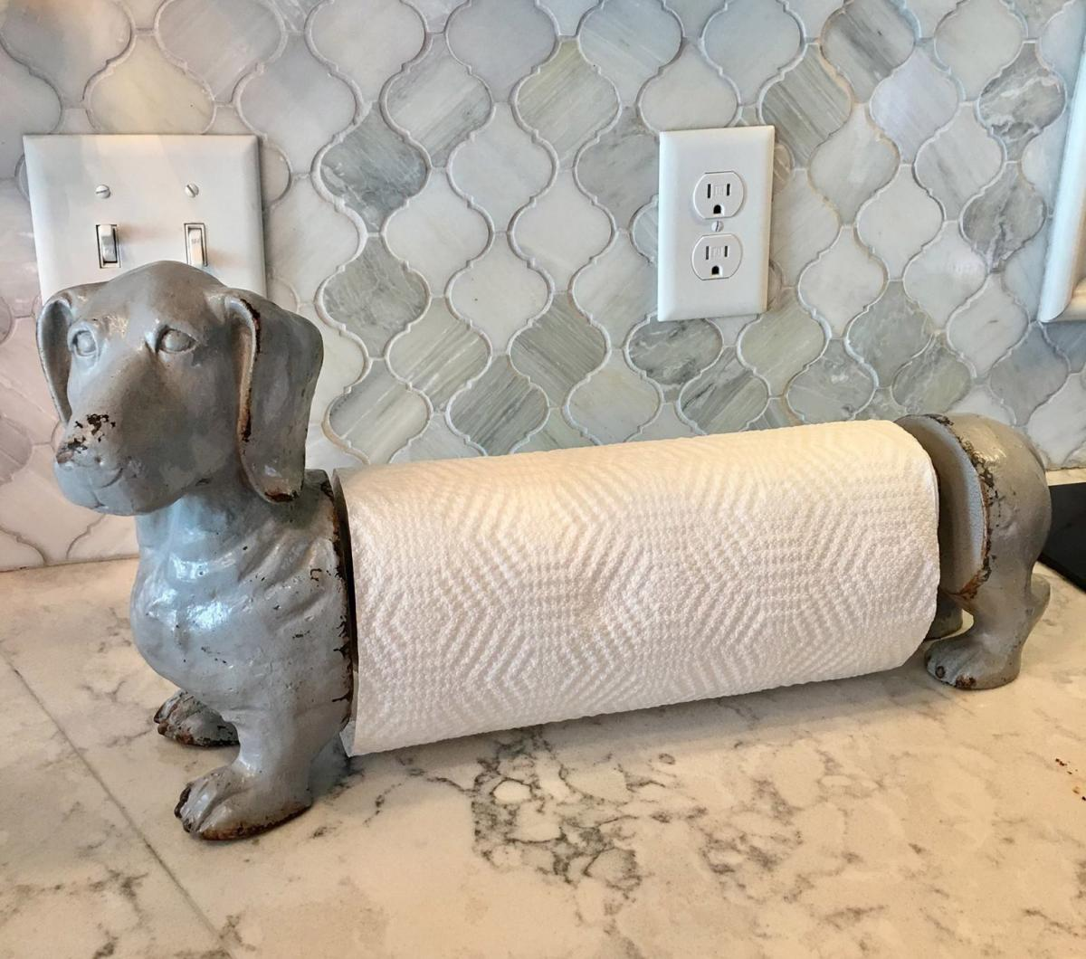 Dachshund Dog Paper Towel Holder - Wiener Dog Paper Towel Dispenser