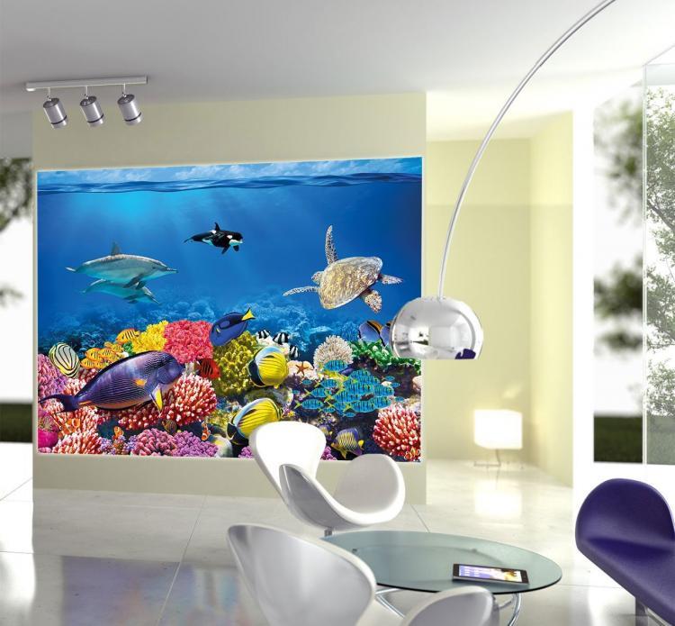 Fish Aquarium Film Sticker Decal