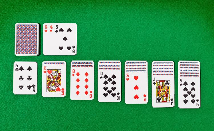 Windows 95 Solitaire Playing Cards