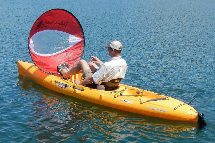 WindPaddle Foldable Kayak Sail