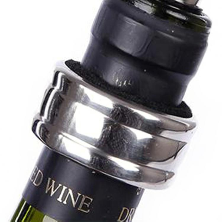 Wine Bottle Shaped Wine Tools Container