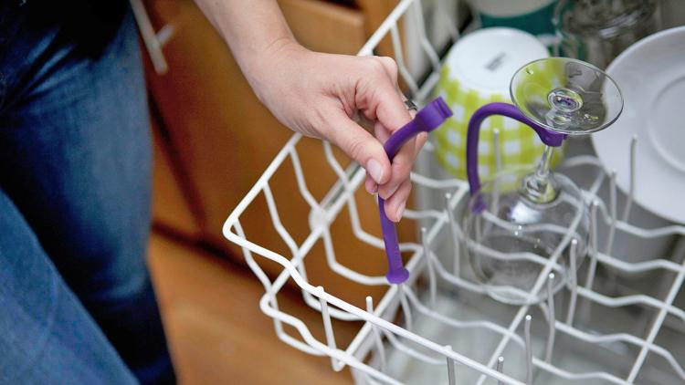 Wine Glass Dishwasher Tether