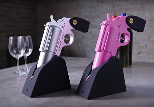 Wine Gun - Pull the trigger to open wine bottle - corkscrew wine gun