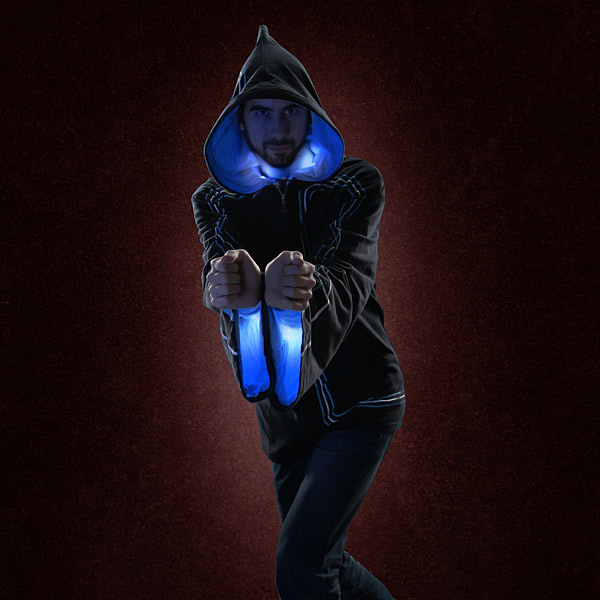 Wizard Hoodie - Cast Spells With Light and Sound Effects