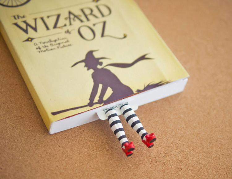 Wizard Of Oz Wicked Witch Legs Bookmark