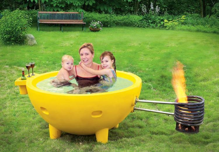 Wood Burning Hot Tub (Dutch Tub)