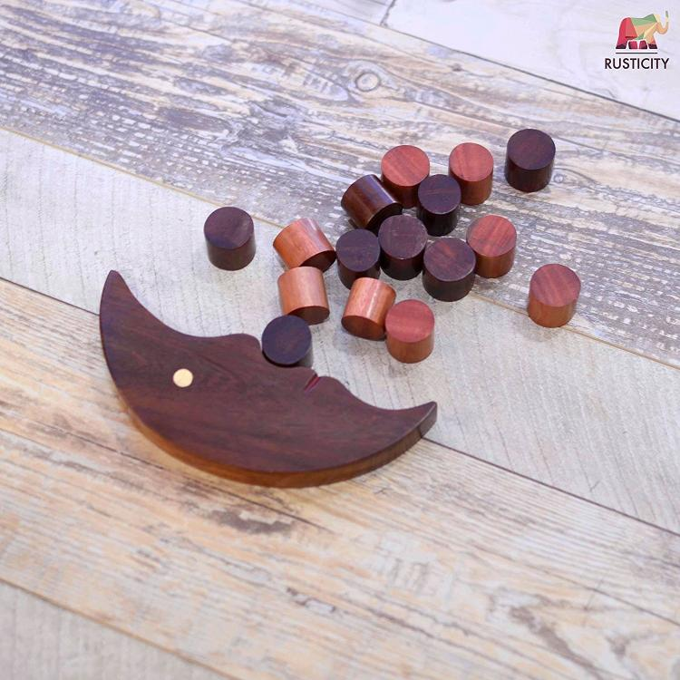 durable and decay resistant - Crescent Moon Balance Game Toy
