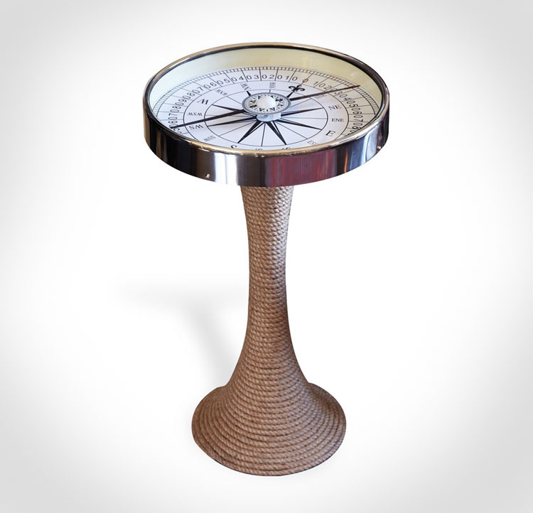 Working Compass Side Table