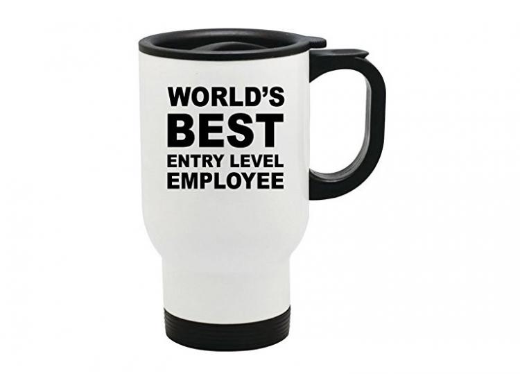 World's Best Entry Level Employee Mug - Best funny office mug
