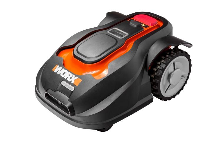 the worx landroid is a robotic lawn mower like a roomba. Black Bedroom Furniture Sets. Home Design Ideas