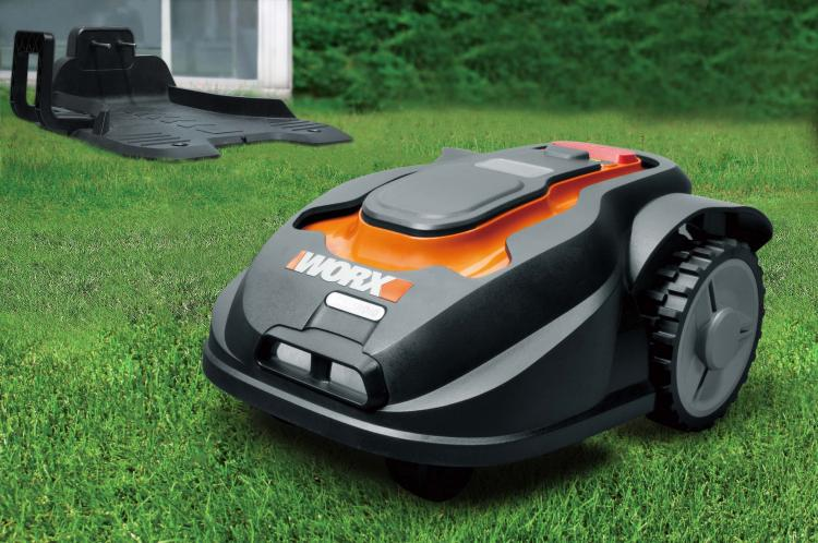 The Worx Landroid Is A Robotic Lawn Mower Like A Roomba