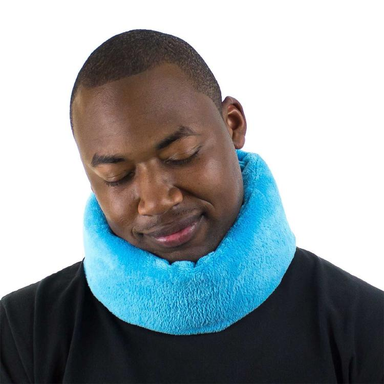 Wrap A Nap Travel Pillow Wraps Around Your Head For 360