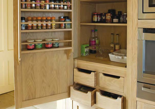 Neptune Wrap-Around Refrigerator Pantry Is The Ultimate Kitchen Storage Solution - Neptune Grand Larder Unit