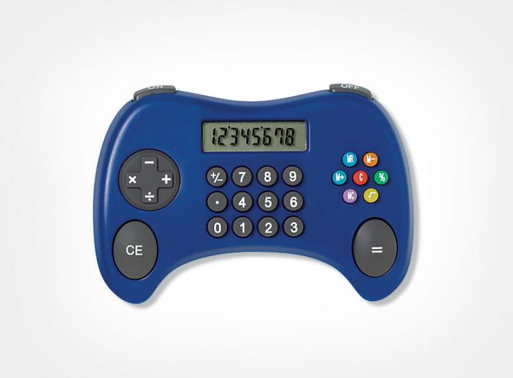 Game Controller Shaped Calculator