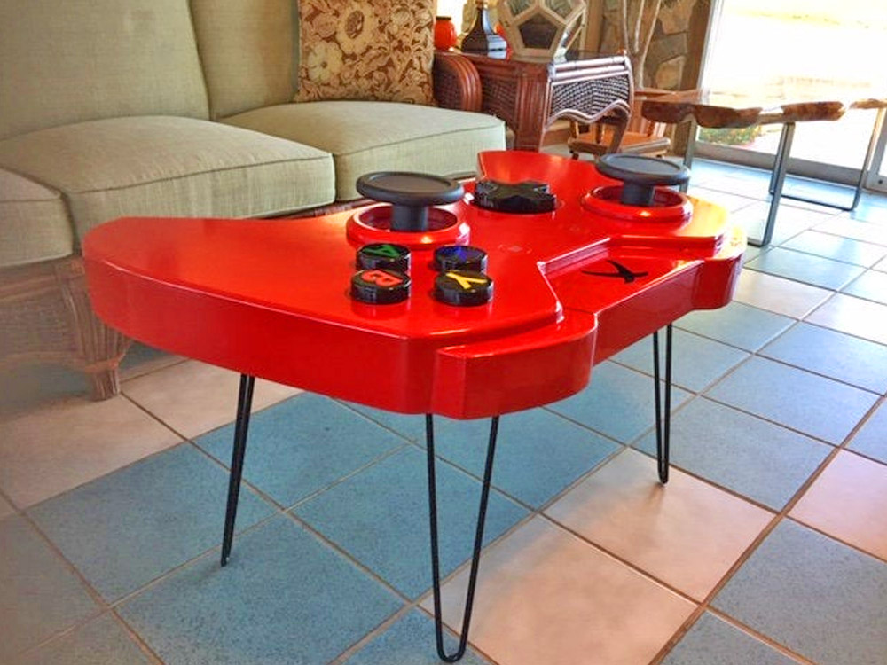 Giant Xbox Controller Replica Coffee Table