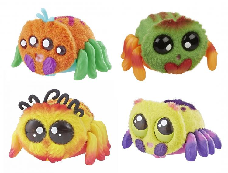 Yellies: Voice Activated Spider Pet