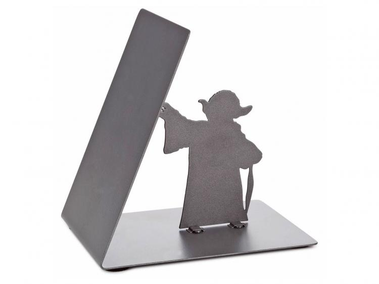 Yoda Bookend Holds Leaning Books Up With The Force - Funny Star Wars Book-end