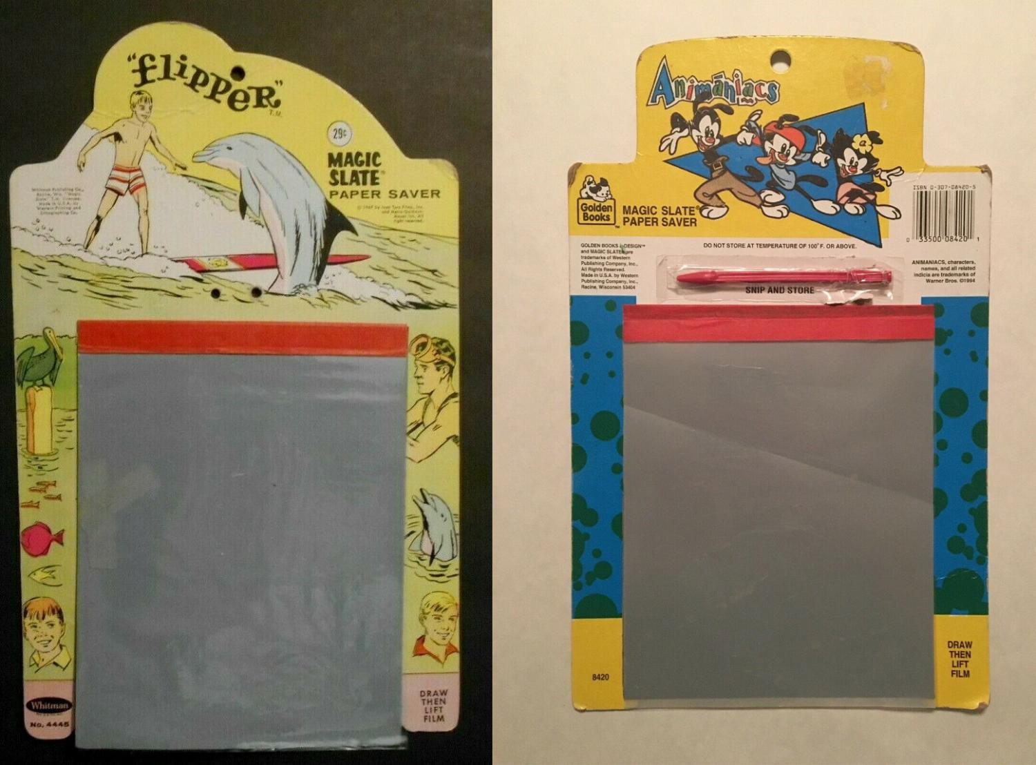 Nostalgic Magic Slate Paper Savers From The 80's and 90's