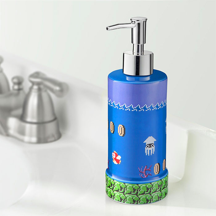 Super Mario Soap Dispenser