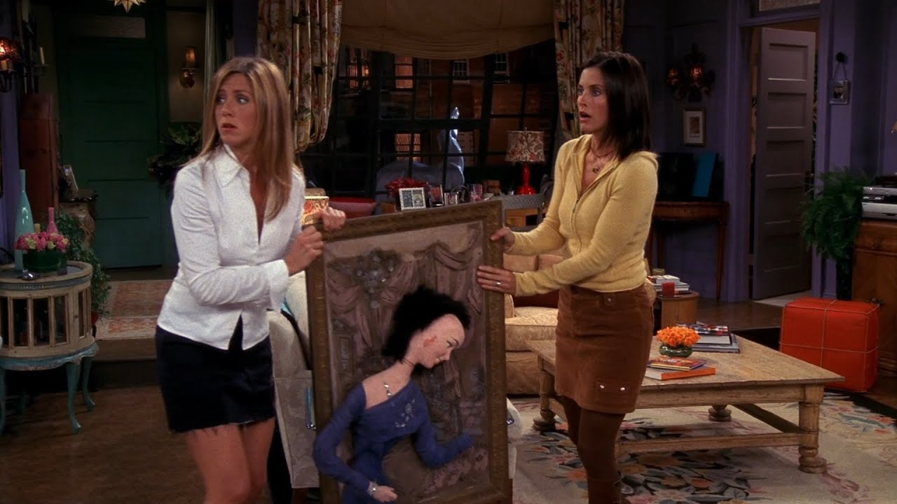 Friends Phoebe's Creepy 3D Wall Art Figure - Gladys Creepy Person Art Sculpture