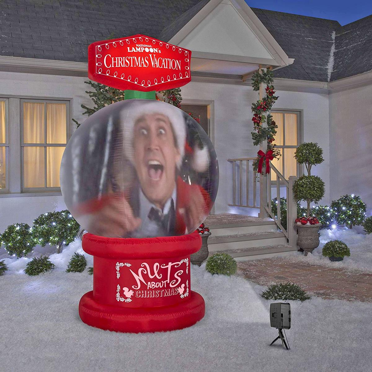 National Lampoons Christmas Vacation Snow Globe Inflatable
