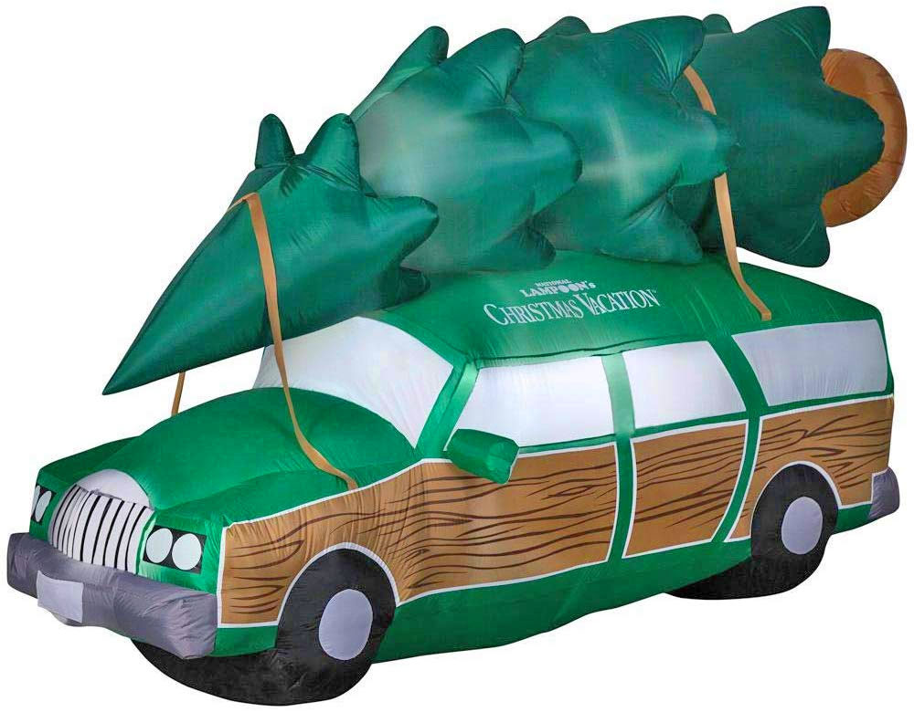 National Lampoons Christmas Vacation Station Wagon Inflatable