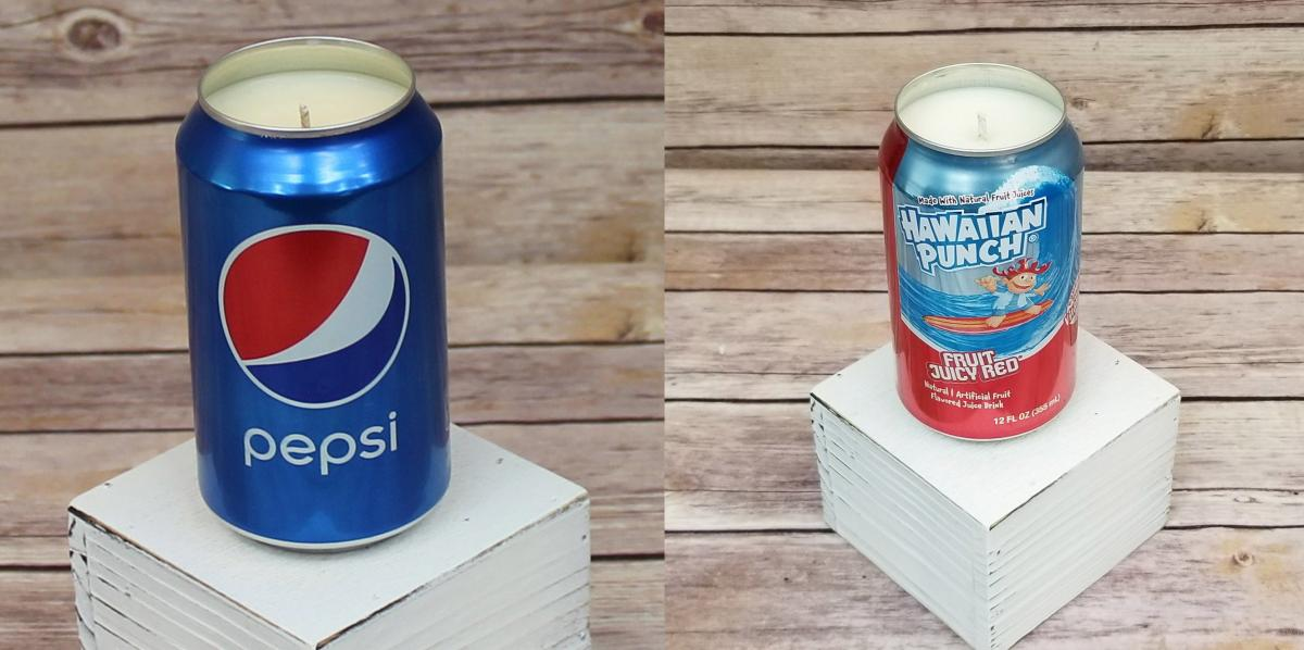 pepsi Candle - Hawaiian Punch Candle - Candle that smells soda pop