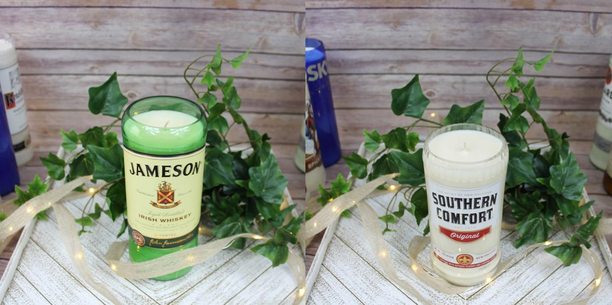Jameson Whiskey Candle - Southern Comfort Candle - Candle that smells like booze