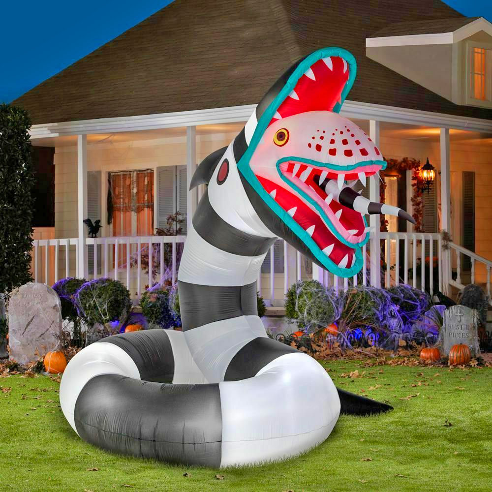 Inflatable Animated Sandworm
